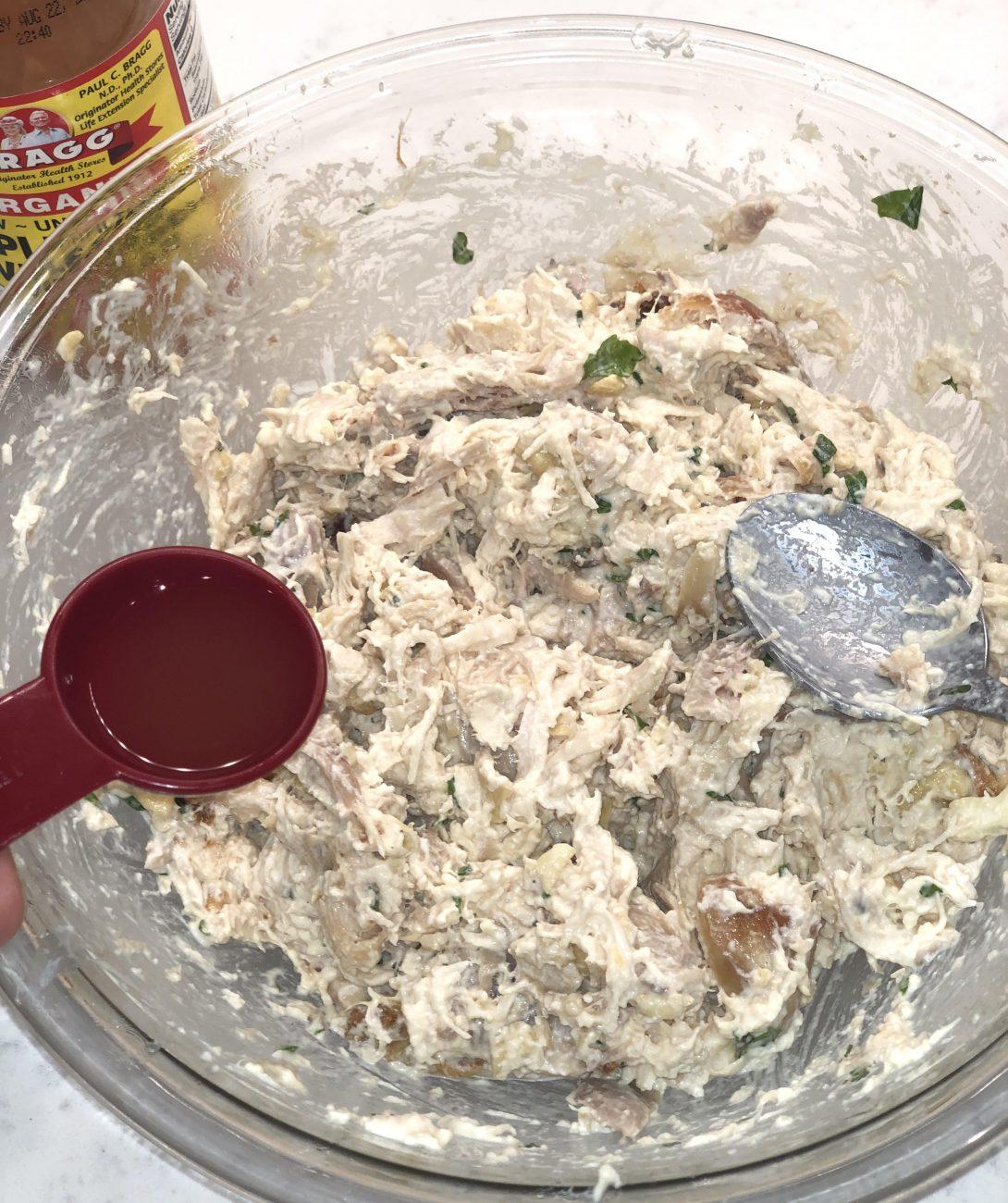 Basil Cashew Chicken Salad Recipe ( Paleo & Healthy)